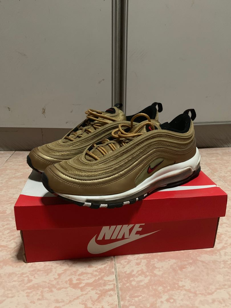 best service bd348 356a3 Nike Air Max 97 OG Metallic Gold