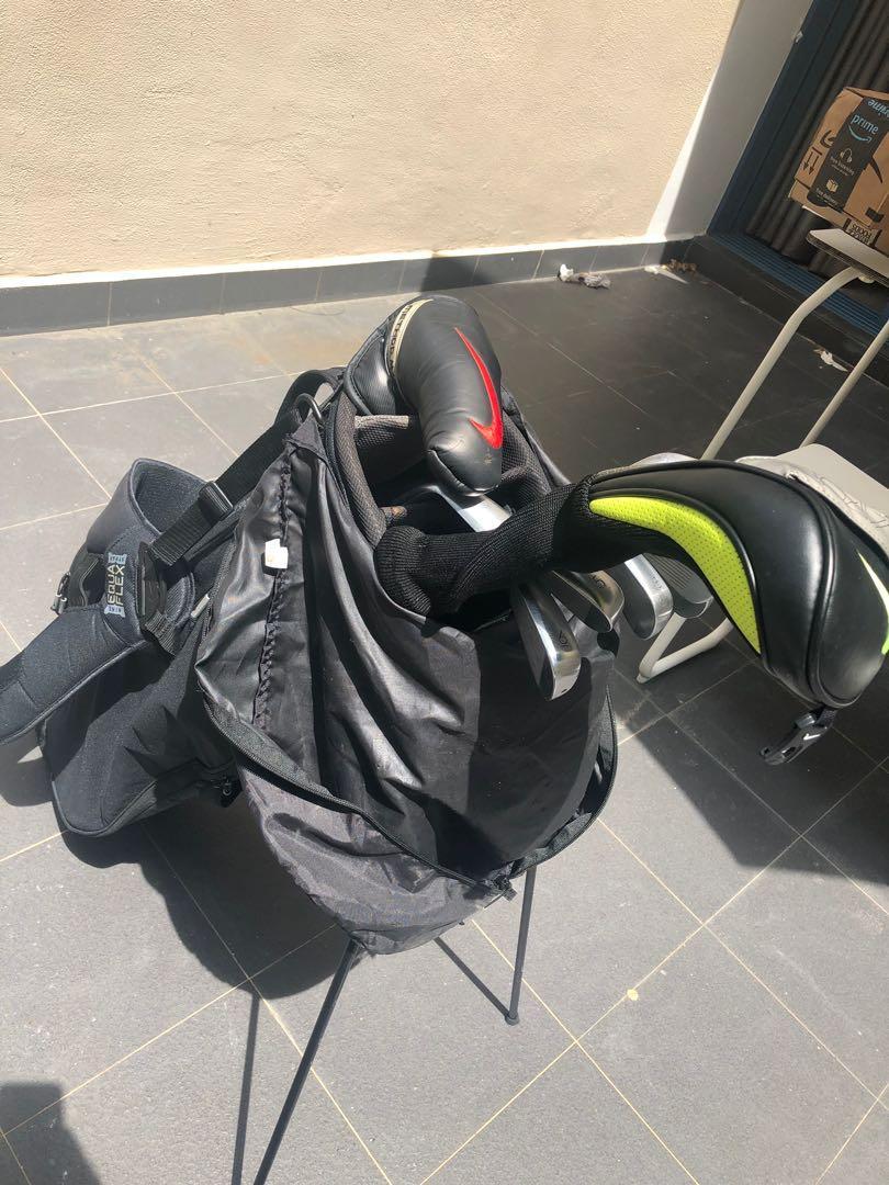 Nike stand golf bag