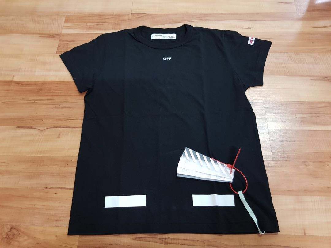 cebef985 Off White FW17 Seeing Things Tee, Men's Fashion, Clothes, Tops on ...