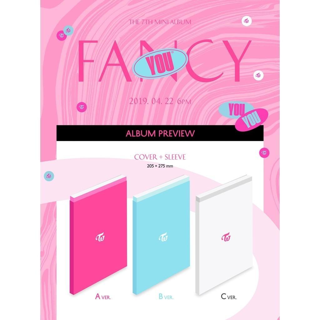 [OPEN PO] TWICE 7th Mini Album - Fancy You