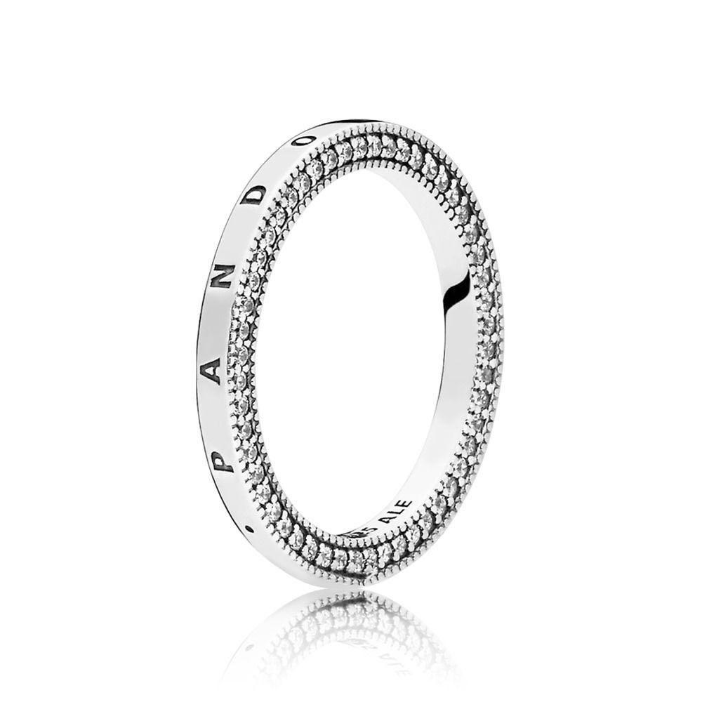 b56558866 Pandora Signature Hearts RIng, Women's Fashion, Jewellery, Rings on ...