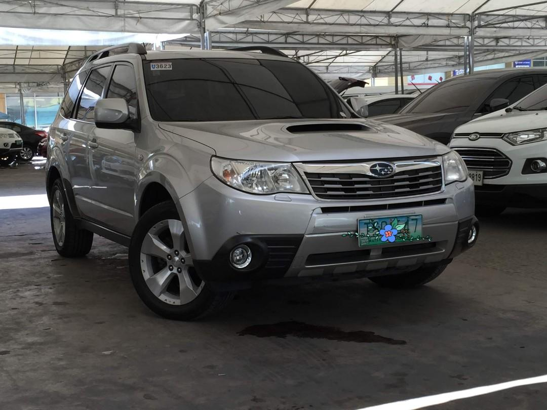 Perfect Family Van 2011 Subaru Forester 2.5 XT Turbo AT Gas only P22T monthly at 30% DP