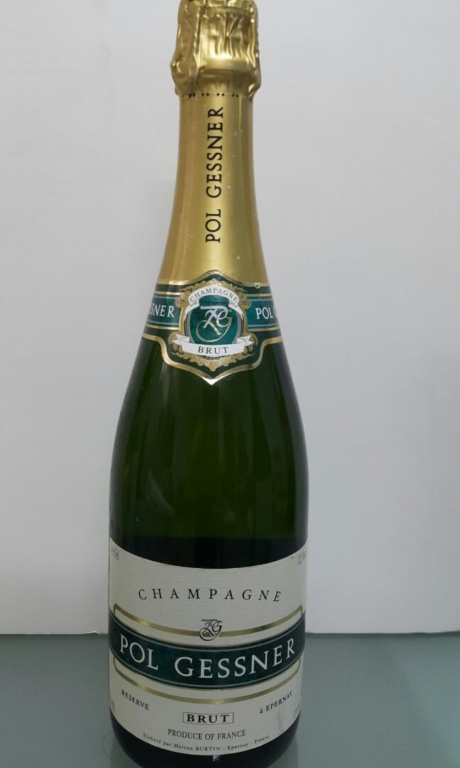 Pol Gessner Brut NV Champagne 750ml