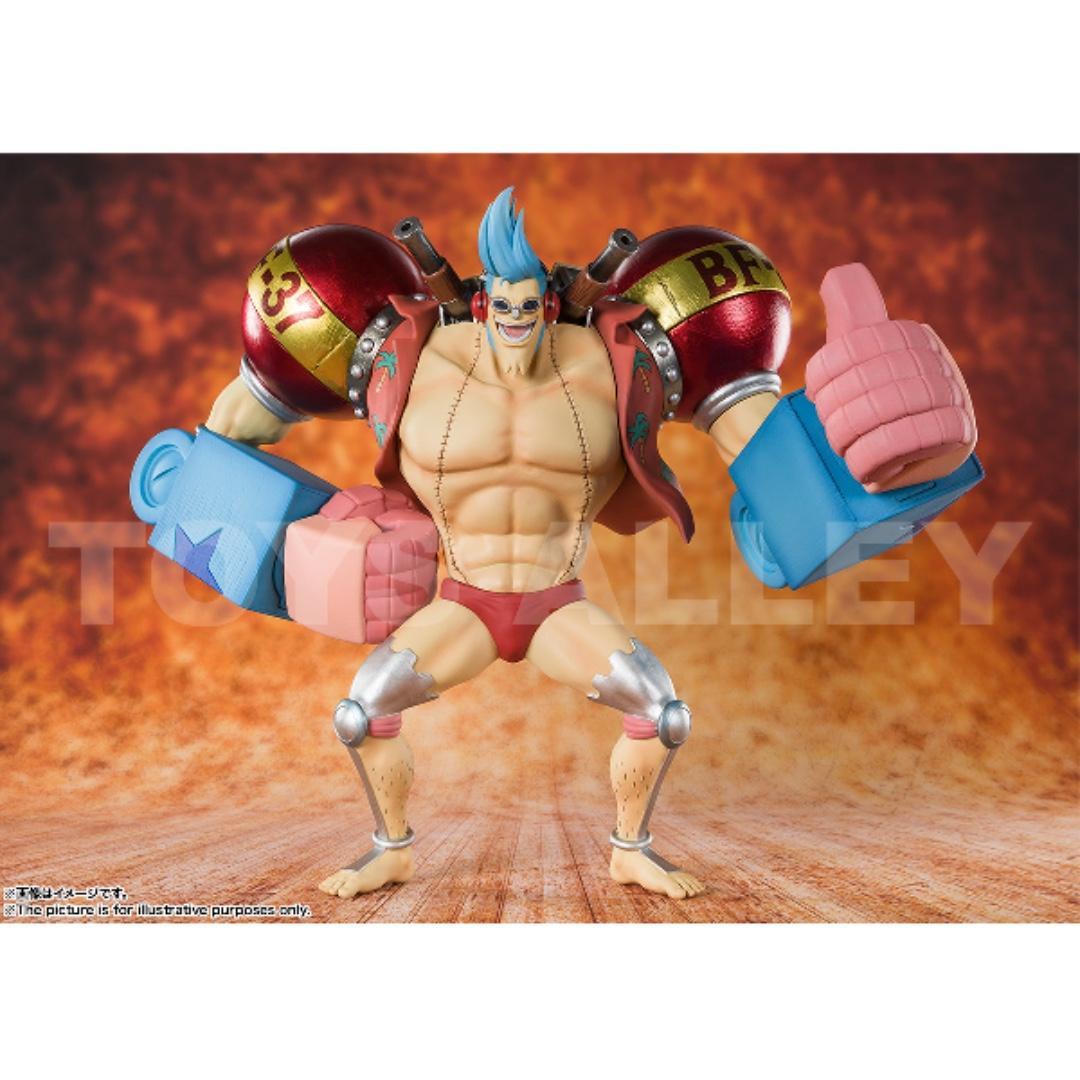 [Preorder] Figuarts ZERO One Piece 20th Anniversary Iron Man Franky