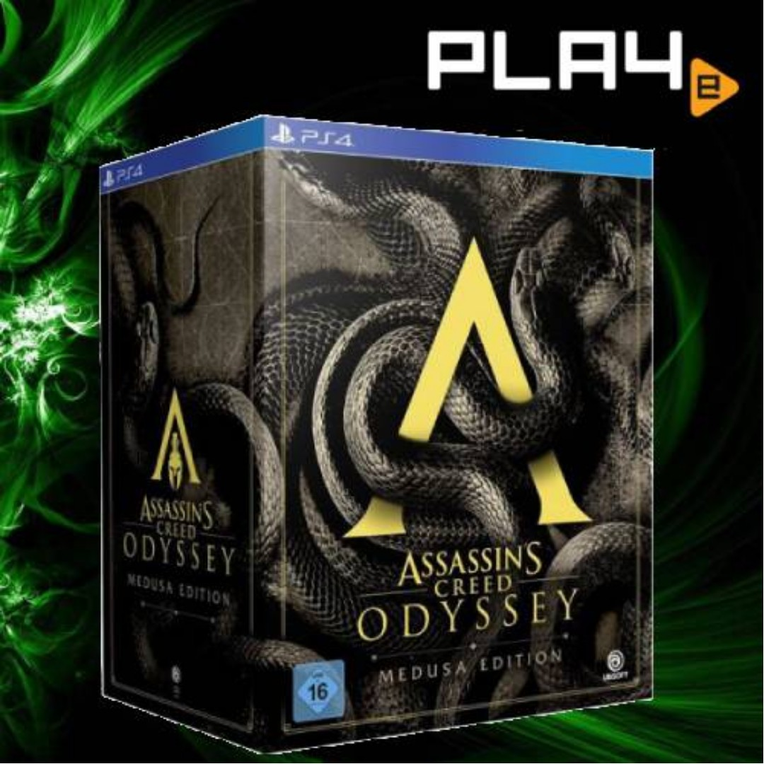Ps4 Assassin S Creed Odyssey Medusa Edition Brand New Toys