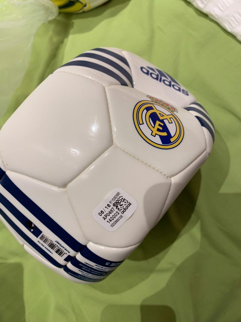 uk availability 4387e a0c72 Real Madrid Adidas Football Original, Sports, Sports & Games ...