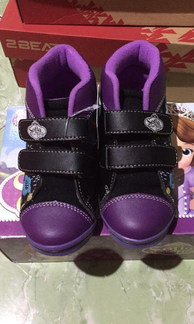 Sepatu anak Perempuan Princess Sofia