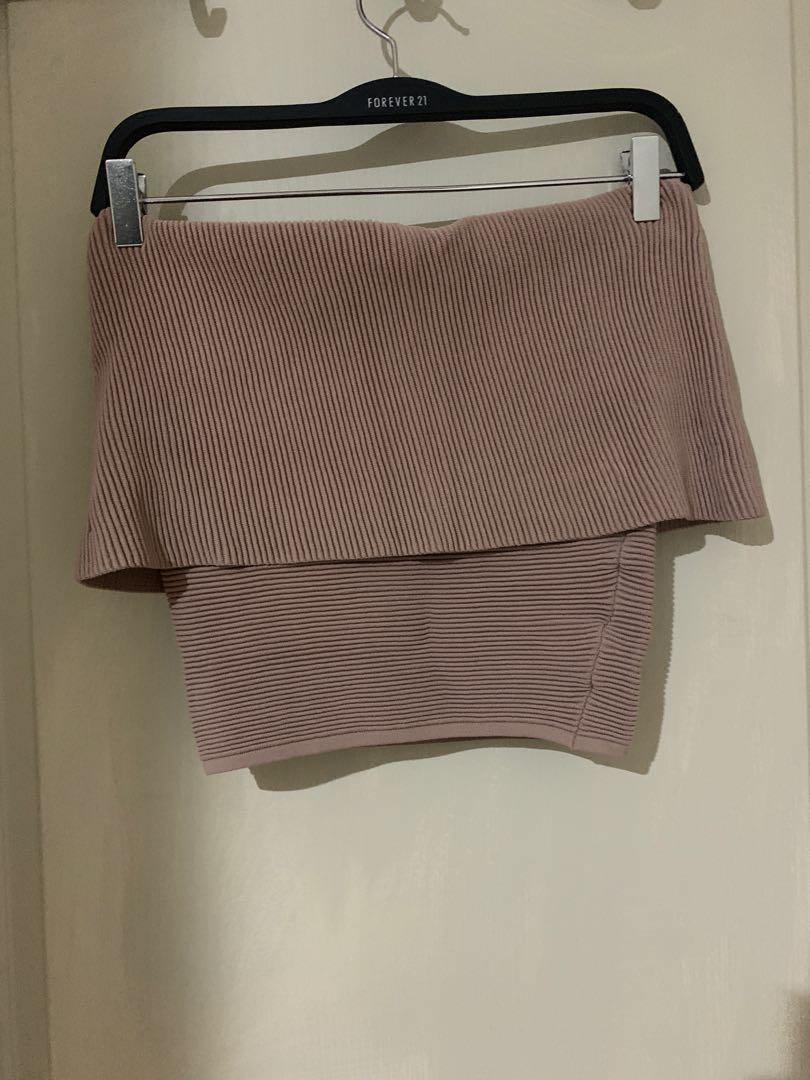 Sheike bandeau knit top