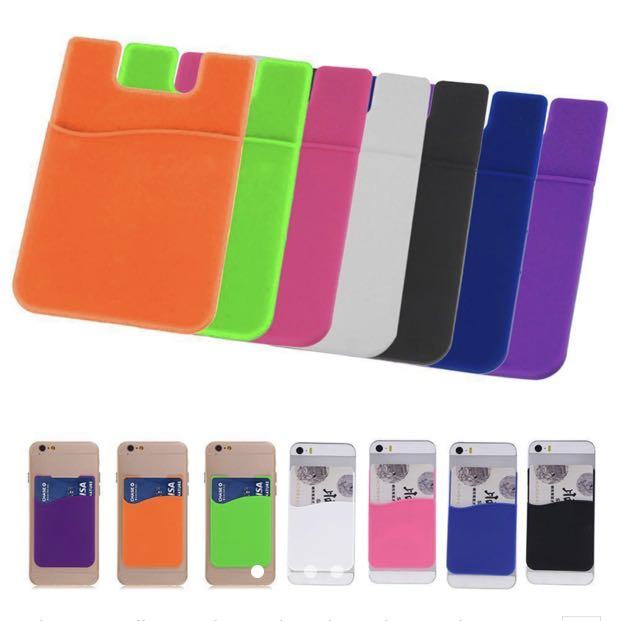 detailed look 9825c 66491 SILICONE CARD HOLDER