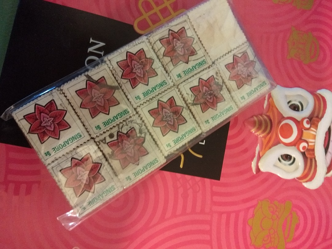 Singapore /Malaysian unused stamps in packs ..collectors item .. limited stock