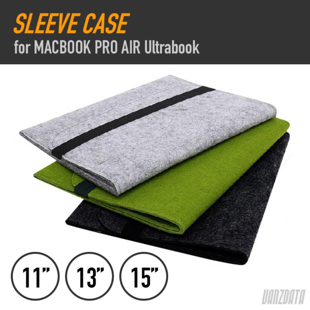 SLEEVE CASE -1- For Macbook Pro Air Ultrabook 11 13 15 Inc
