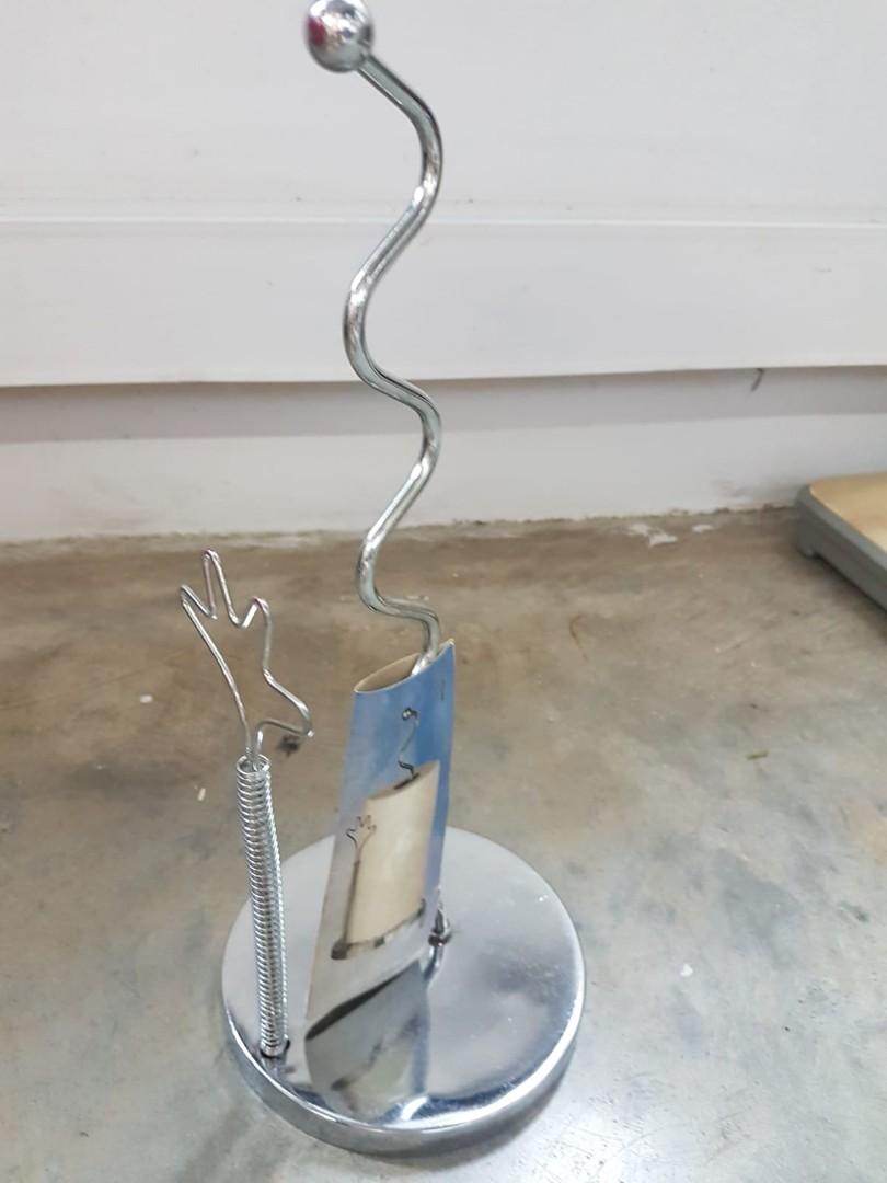 Stainless Steel Artistic Kitchen Towel Holder