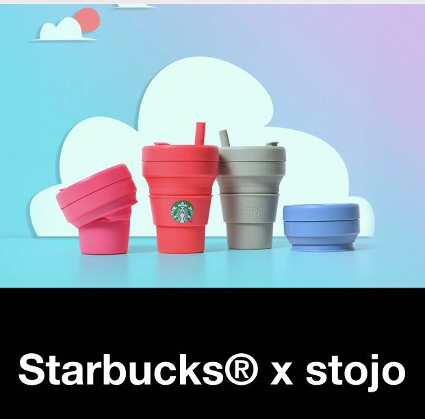257c941118a Starbucks x Stojo Collapsible Cups (16oz)
