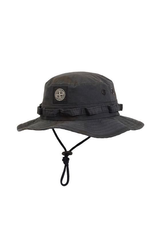 a4539154 Supreme x Stone Island Boonie Black Camo, Men's Fashion, Accessories ...