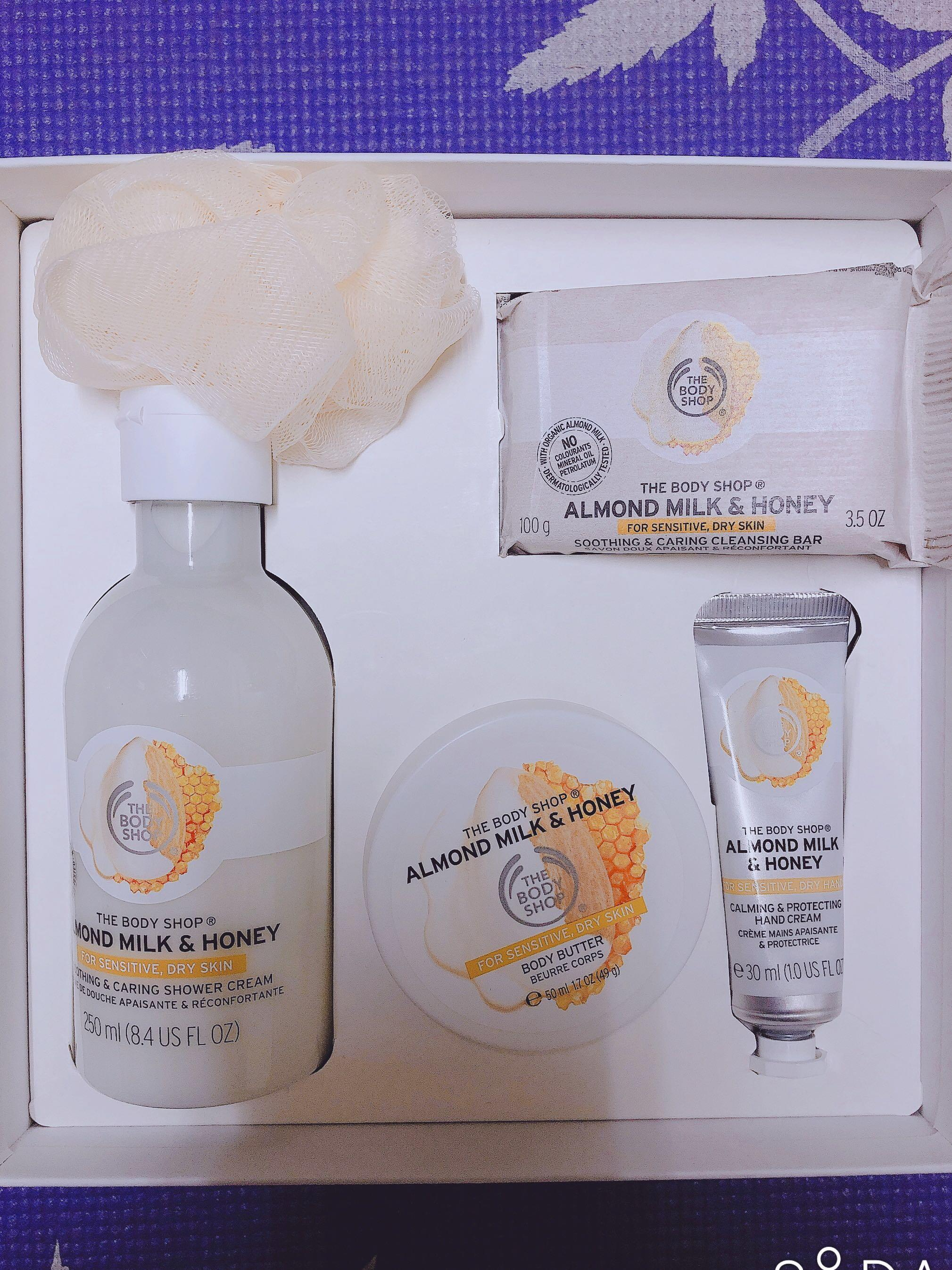 The Body Shop 杏奶花蜜4+1禮盒