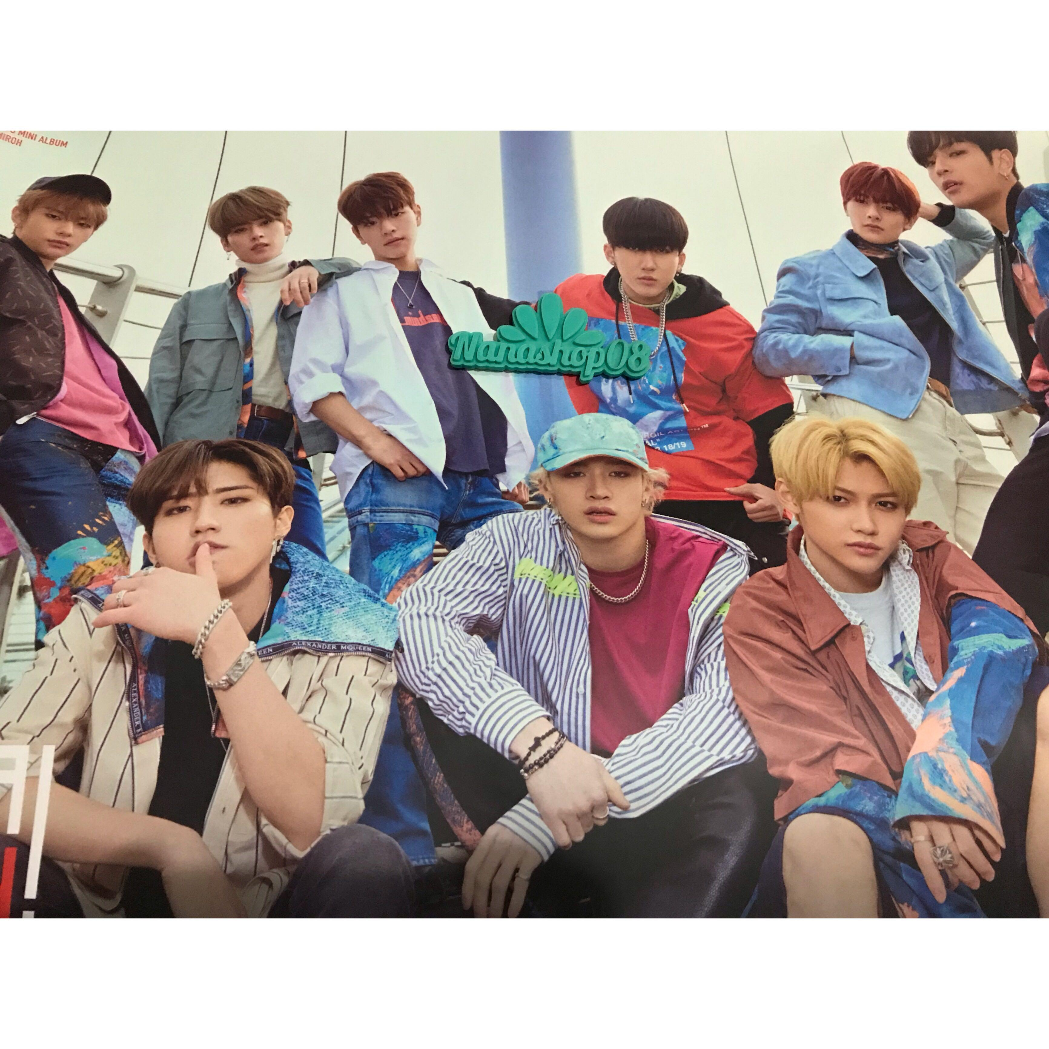 UNSEALED Stray Kids Cle 1 : Miroh (Limited Ver.) Album + Poster + Benefit Sticker