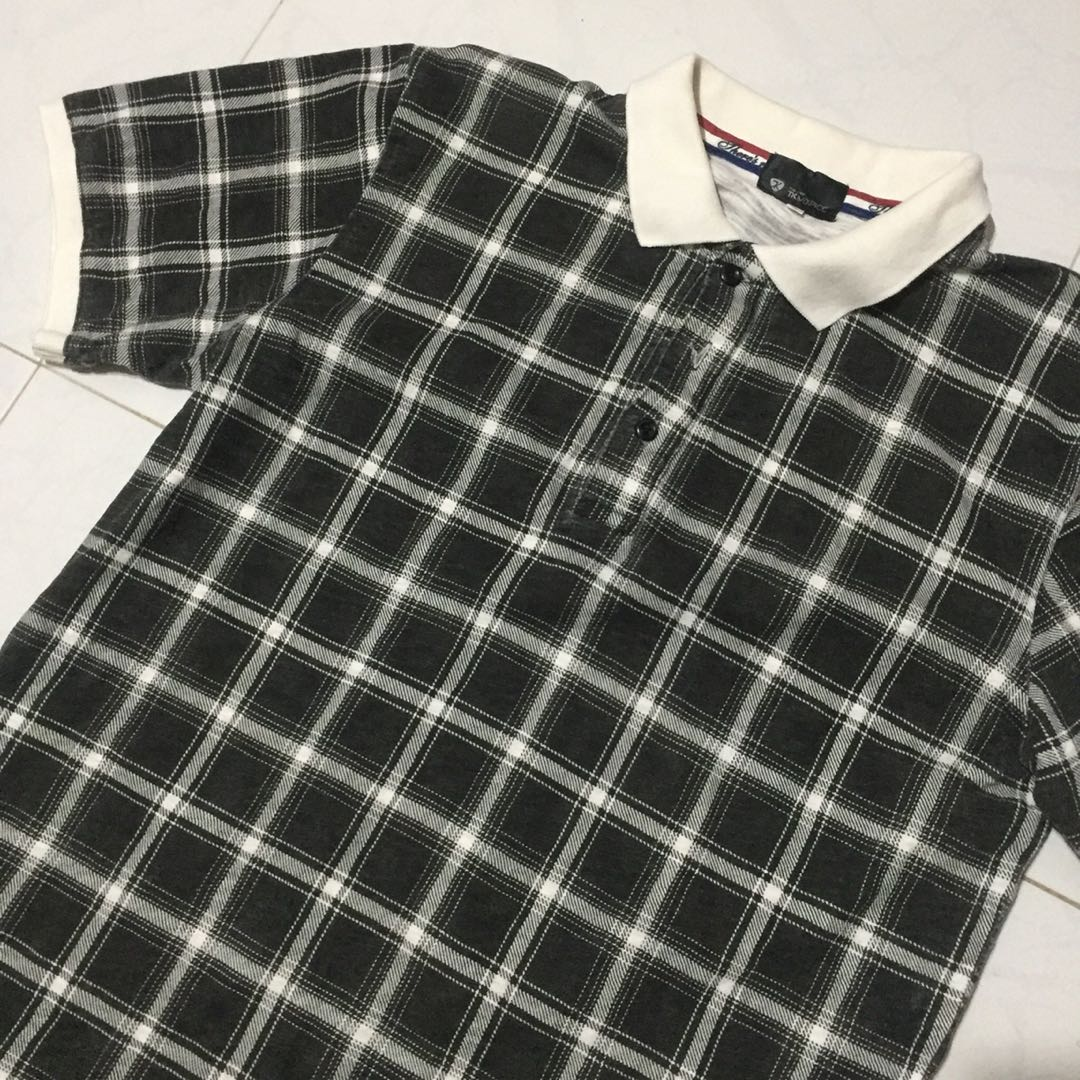 eb76778f VINTAGE PLAID RUGBY POLO TEE, Men's Fashion, Clothes, Tops on Carousell