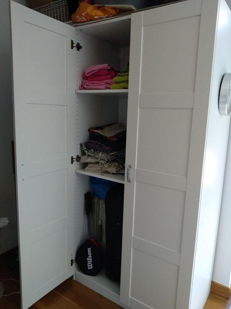 Wardrobe IKEA PAX & BERGSBO doors