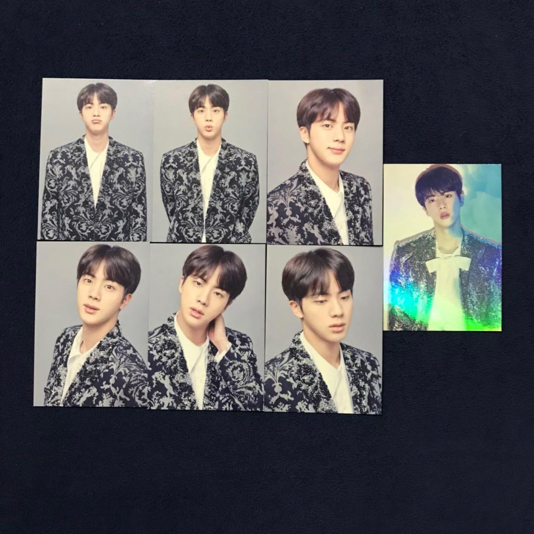 (WTS) BTS Wings Tour The Final Jin Miniphotocard Set with lenticular card