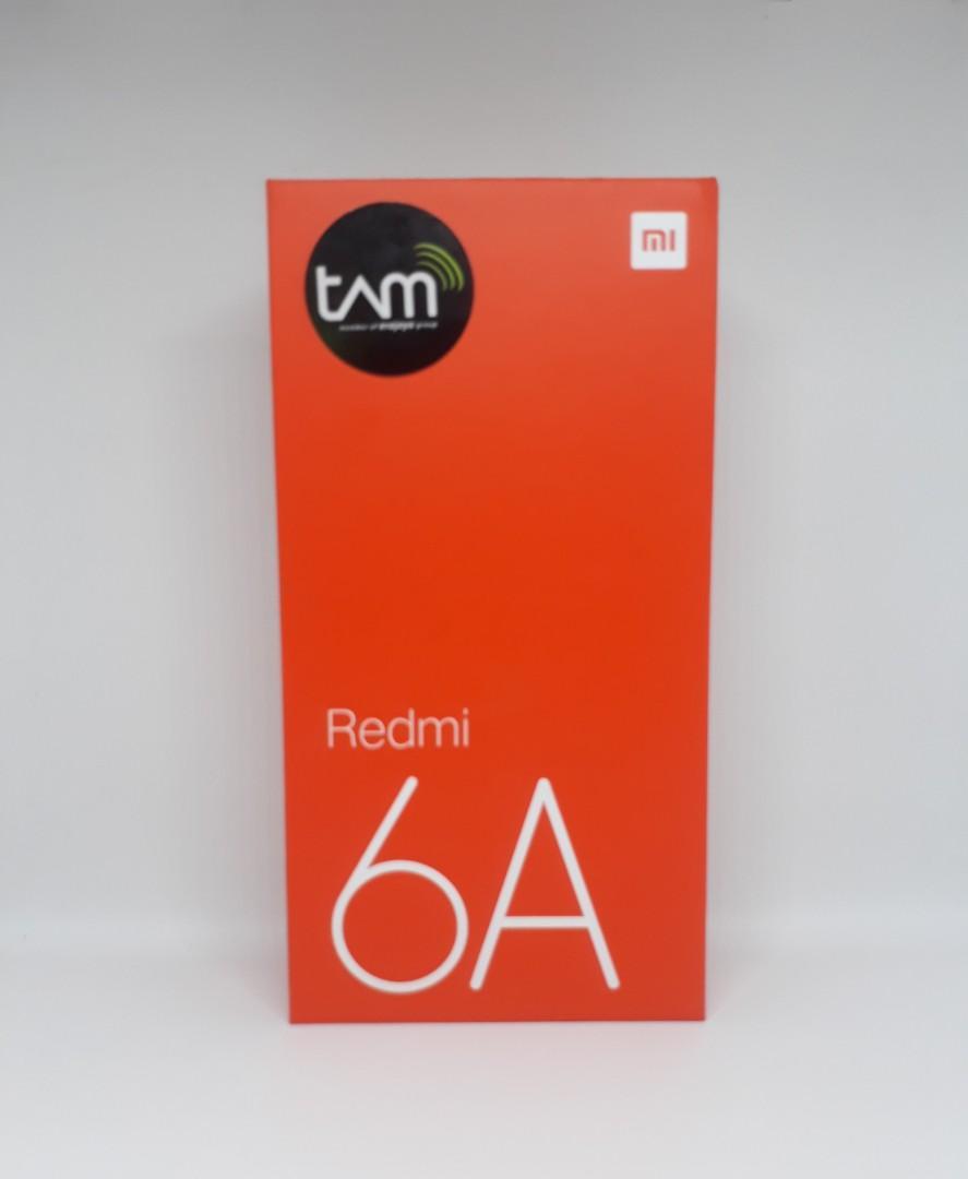 Xiaomi Redmi 6A Garansi Resmi TAM,Ram 2/16GB ,Belm Lama Pake