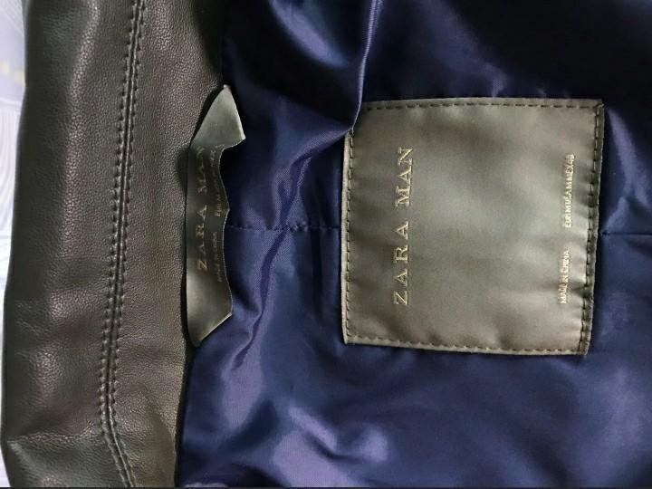 Zara (Faux leather jacket)
