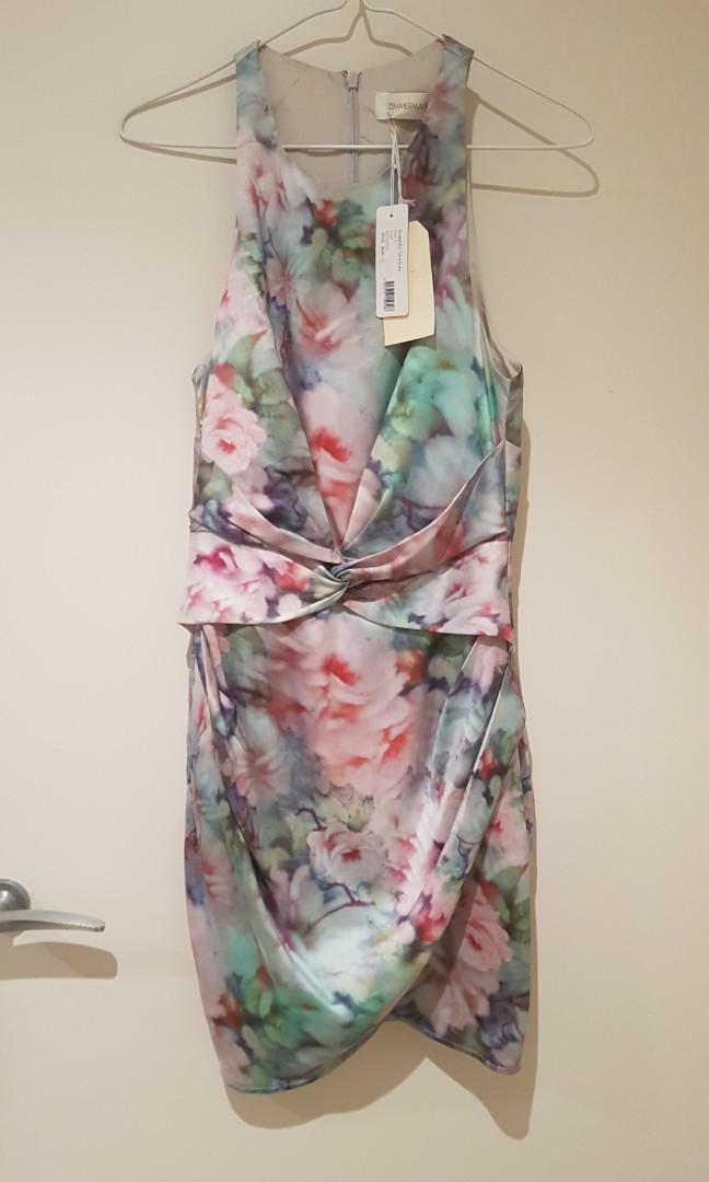Zimmermann Twist floral blur dress - Tags still attached