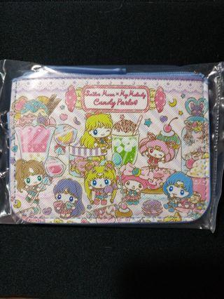 (包郵) Sailor Moon x Melody 八達通套 零錢包 卡片套