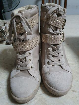 Authentic ALDO wedge boots