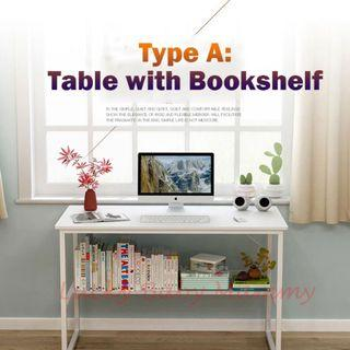 ❗️FREE DELIVERY❗️Computer/Study Table with Bookshelf