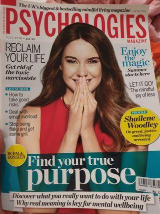 Psychologies magazine (bhs inggris)