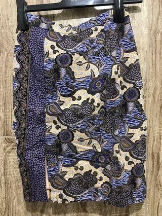 Rok Batik with Slit