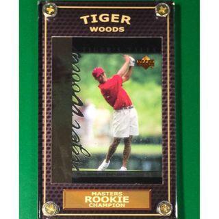 Tiger Woods Rookie #TT7 PGA Masters 2019 Champion Golf Card