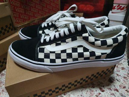 Vans Old Skool DX Checkerboard ABC Mart Japan