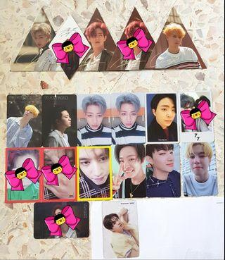 [WTS -SALE] GOT7 OFFICIAL PHOTOCARDS💚