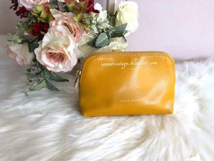 Coccinelle Small Pouch-Mustard