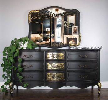 Elegant French Provincial Dresser