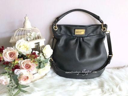 Marc by Marc Jacobs Classic Q Hillier Hobo-Black