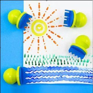 兒童筆刷工具