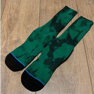 STANCE MEN'S SOCKS (Stance 綠迷彩色籃球襪)