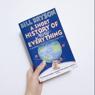 🚚 A Short History of Nearly Everything by Bill Bryson