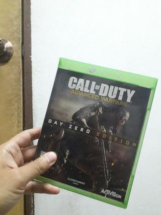 Xbox One Games Call of duty Advance Warfare (COD AW)