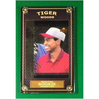 Tiger Woods Rookie #TT9 PGA Masters 2019 Champion Golf Card