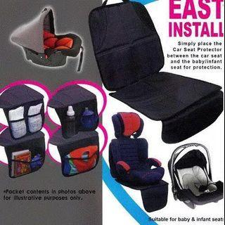 Car seat protector leather