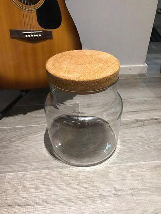 IKEA玻璃樽