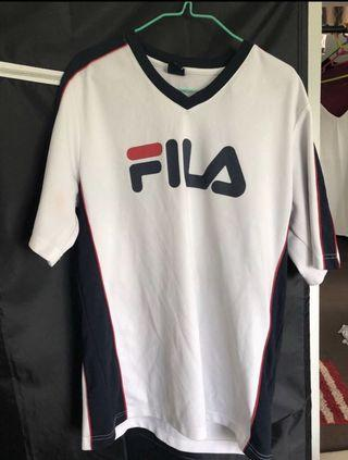Adidas and Fila T-shirt