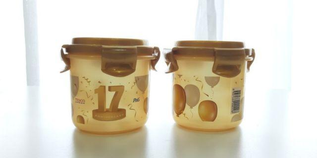 Elianware Air Tight Seal Food Container (400ml x 2)