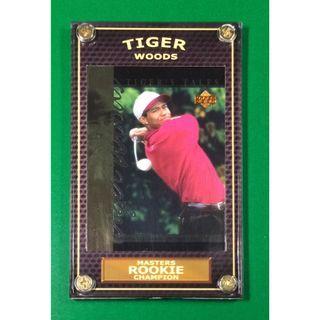 Tiger Woods Rookie #TT10 PGA Masters 2019 Champion Golf Card