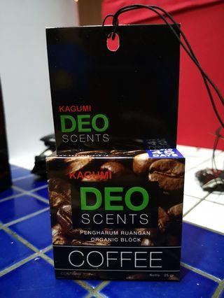 Deo Scents Coffee For Car / Room Deodorizers
