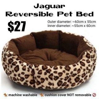 Reversible Pet Bed (Jaguar)