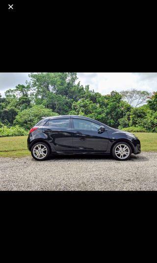 Mazda 2 car for rental